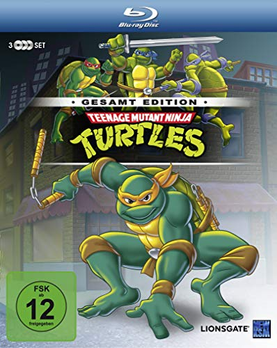 Teenage Mutant Ninja Turtles - Gesamtedition (Episode 01-169) [Blu-ray]