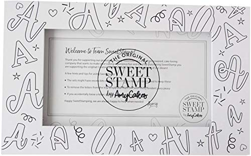 Sweet Stamp by AmyCakes Large Storage Box for Plastic Letter/Number Embossing Sets