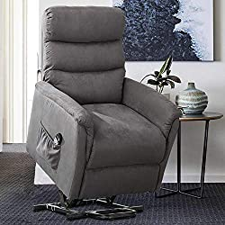 Some lift chair recliners offer heating and massage options too.