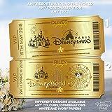 Hochzeitskarten, personalisierbar, Motiv: Walt Disney