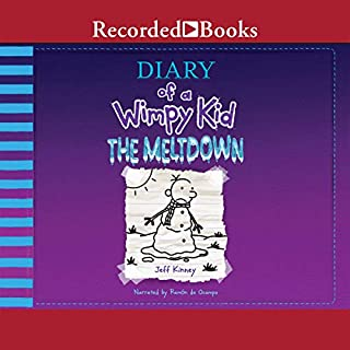 Diary of a Wimpy Kid: The Meltdown cover art