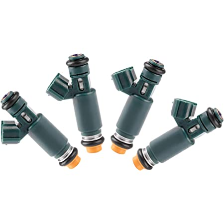 ROADFAR Fuel Injector Parts 12 Hole Engine Fuel Injector Kits fit for 2002 2003 2004 2005 2006 Nissan Altima 2.5L,2002 2003 2004 2005 2006 Nissan Sentra 2.5L 195500-4390,Pack of 4