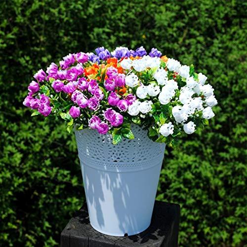 LXH-SH Fournitures Outil de Jardinage Floral Creux Maison Décoré Plusieurs Couleurs Simple Arrangement De Fleurs en Vase en Verre Pots De Fleurs De Couleur Aléatoire Livraison