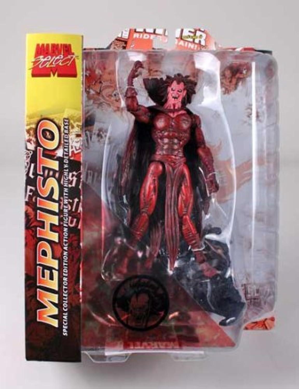 disfrutando de sus compras Marvel Marvel Marvel Select Premium Figura Mephisto by Diamond Select  venta al por mayor barato