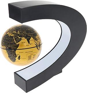 Baosity 2019 Hot Amazing Magnetism Levitation Floating 3 Type Globe LED Antigravity Gifts