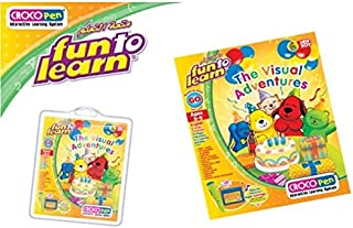 New Boy Fun To Learn - Croco BK The Visual Adventures I (NB902996)