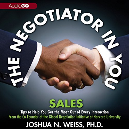 The Negotiator in You: Sales cover art