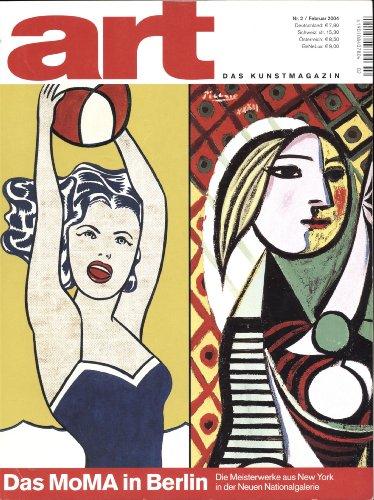 art. Das Kunstmagazin. Nr.2/Februar 2004 - Das MoMa in Berlin. Die Meisterwerke aus New York in der neuen Nationalgalerie
