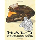 Halo Colouring Book: Join the interstellar war between humanity and the Covenant
