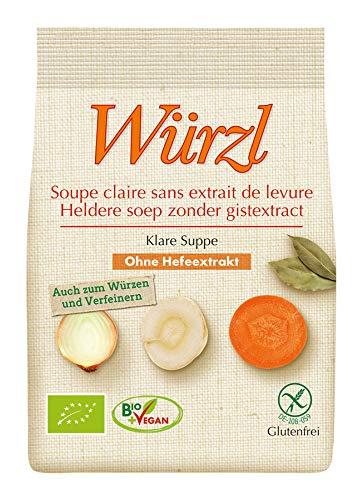 EDEN Bio Würzl Klare Suppe hefefrei Nachfüllbeutel (6 x 250 gr)