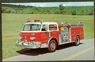 1977 American LaFrance Pumper postcard