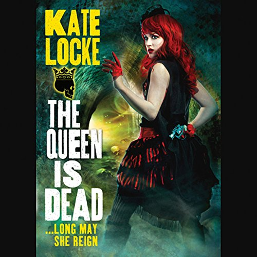 The Queen Is Dead audiobook cover art
