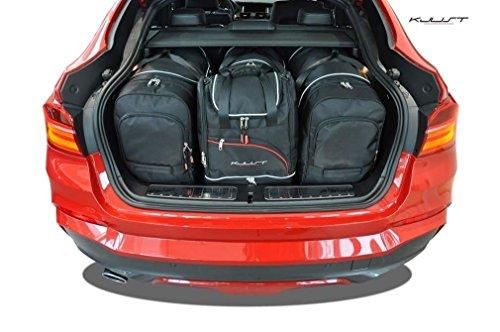 KJUST Dedizierte Reisetaschen 4 STK Set kompatibel mit BMW X4 F26 2014-2017