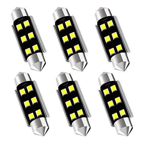 Not Flickering Issue KAFEEK 5/× 9-30V Super Bright 41mm 569 578 211-2 212-2 LED Bulb 4014 Chipset Canbus Error Free Dome Light Trunk Light Map Light,White