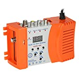 RF Modulator, KKmoon Compact RF Modulator Audio Video TV Converter RHF UHF Signal Amplifier AC120V