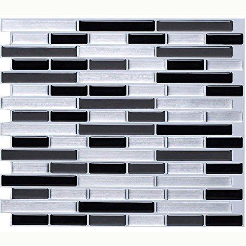 Vamos Tile Premium Anti Schimmel schälen und Stick Fliesen Backsplash aufkleben Backsplash Wandfliesen für die Küche & Bad-REMOVABL E, selbst Klebstoff-11