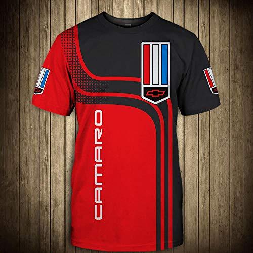 Hoodiepullover 3D-Sweatshirts - CAMARO Printed Unisex Langarm-Kapuzenjacke Sport Frühlings-T-Shirt-Oberbekleidung - Teens Geschenk - Sport Outdoor-Bekleidung Short Sleeve-L