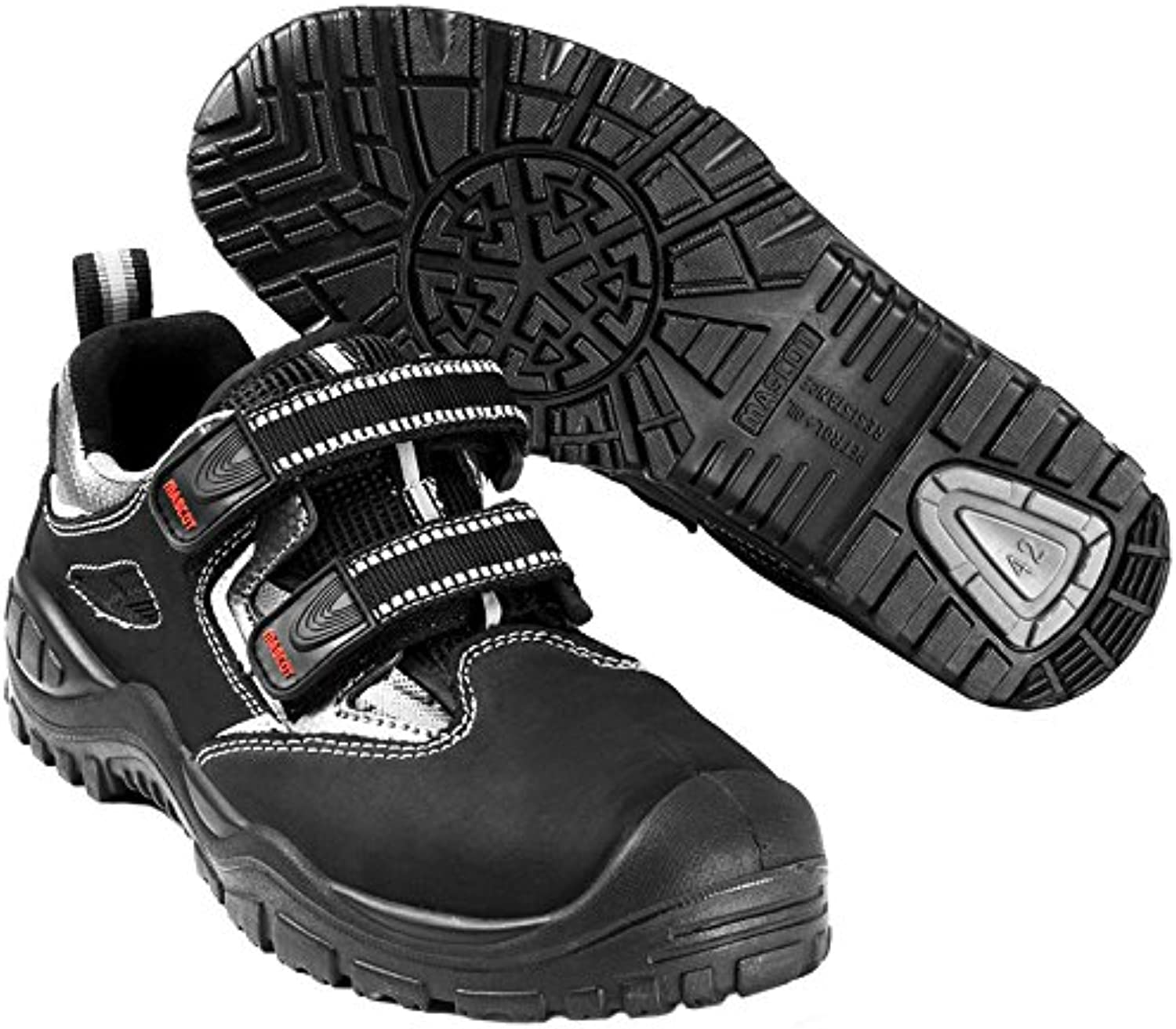 Mascot F0076-910-09-1141 Paldor Safety shoes, W11 41, Black
