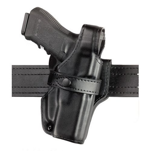 Safariland 070 Duty Holster, SSIII Mid-Ride, Level III Retention - Plain Black, Left Hand