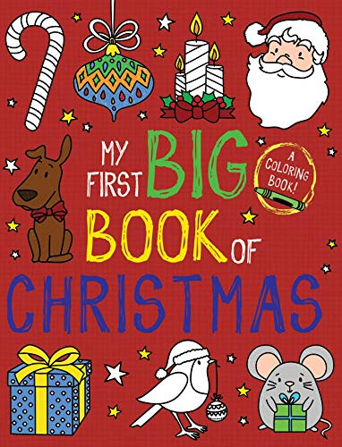 My First Big Book of Christmas (My First Big Book of Coloring)