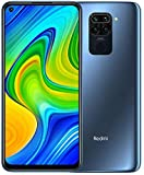 "Xiaomi Redmi Note 9 Smartphone- RAM 4GB ROM 128GB 6.53 ""FHD + DotDisplay 48MP Quad Caméra Hotshot 3.5mm Headphone Jack 5020 mAh NFC Gris, Midnight Grey"