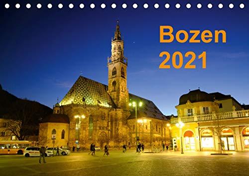 Bozen 2021 (Tischkalender 2021 DIN A5 quer)