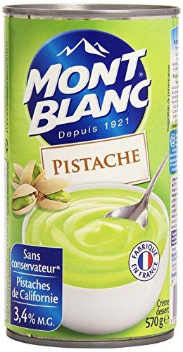 Mont Blanc La creme dessert au Pistache Pistaziencreme 570 Gramm