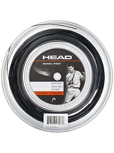 Head Sonic Pro Rollo Cordajes de Raquetas de Tenis, Adultos...