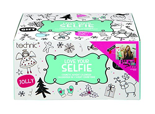 Technic - Calendario de adviento de selfies con 24 productos cosméticos
