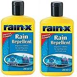 Guardia Limpiador RainX lluvia Repelente 200ml Twin Pack Rain-X del parabrisas
