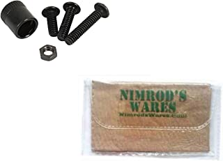 Nimrod's Wares MAGPUL Sling Mount KIT Type 1 Quick Detach SGA Hunter 700 X-22 MAG333 Bundle Microfiber Cloth
