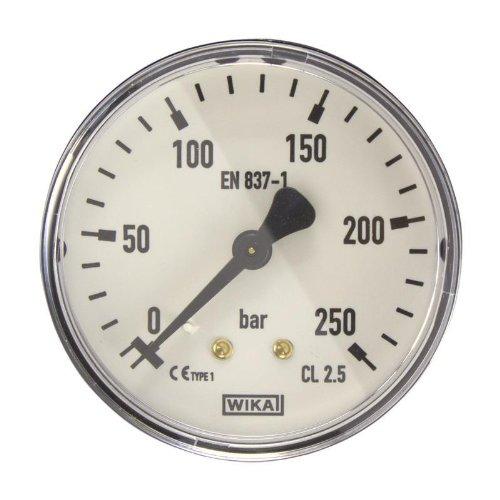 Manometer, NG63, 0-250 bar - WIKA 111.12 - 9084029