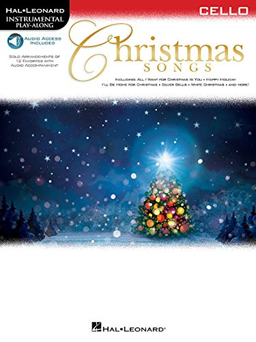 Christmas Songs for Cello: Instrumental Play-Along (Hal Leonard Instrumental Play-along)