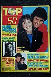 TOP 50 111 1988 VAYA CON DIOS TINA TURNER FELIX GRAY + 2 POSTERS ELSA GLEN MEDEIROS SERGE GAINSBOURG