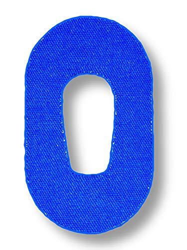FixTape atmungsaktives Sensor-Tape für Dexcom G6 I selbstklebendes Patch mit Loch für Glukose-Sensor I hoher Trage-Komfort I hautfreundlich und wasserfest in modernen Designs I 7 Stück (Blau)