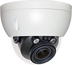 4MP POE IP Dome Camera IPC-HDBW4433R-ZS 2.7-13.5mm, Motorized Varifocal Lens Optical Zoom Outdoor Security Camera with SD Slot H.265 ONVIF IP67, IK10