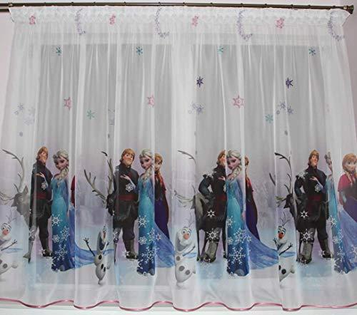 Polontex Gardinen mit universalband Die Eiskönigin Frozen 3