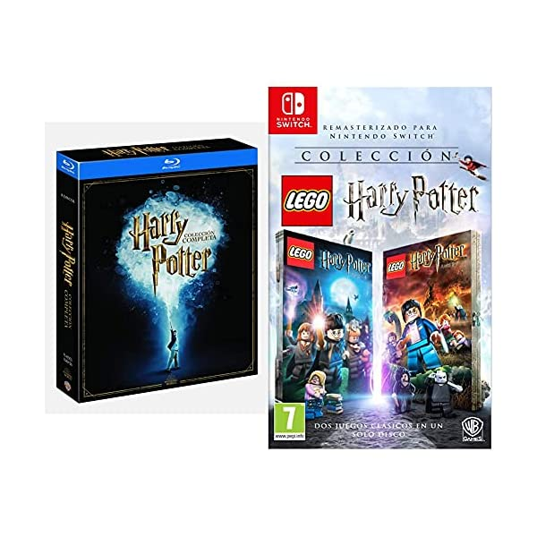 Pack Harry Potter Colección Completa [Blu-ray] & Lego Harry Potter Collection - Nintendo Switch