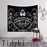 Tidyki Vintage Magic Ouija Board Tapestry Wall Hanging Hippie Blanket Tapestries Home Decorations for Bedroom Living Room Dorm Decor 50'x60'