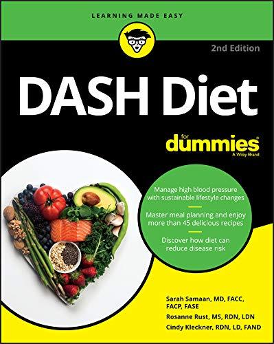 DASH Diet For Dummies (English Edition)