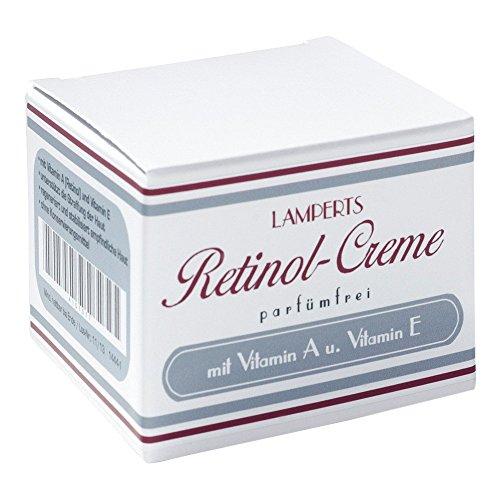 RETINOL Creme parfümfrei Lamperts 50 ml