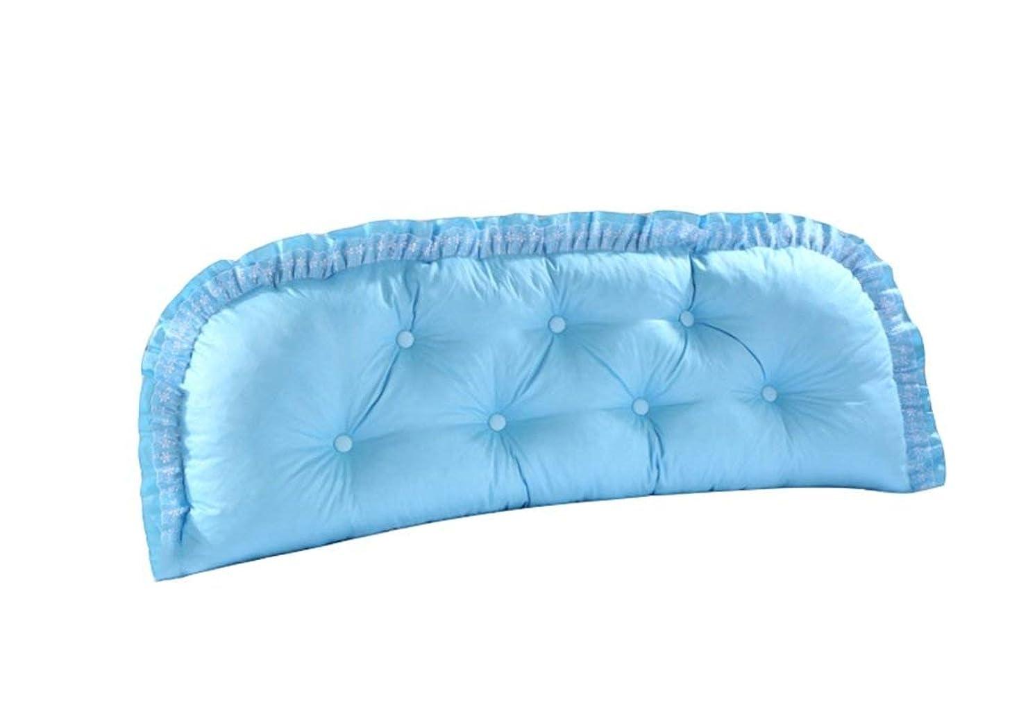 刈る要求ビット31-luoshangqing 取り外し可能な枕二重綿のベッドの柔らかい袋の大きいベッドの枕 (サイズ : 120*55cm)