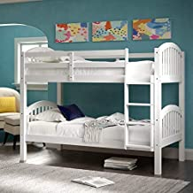 Best real wood bunk beds Reviews