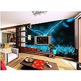 Rureng 3D Tapete Benutzerdefinierte Fototapeten Fantasy Wildnis Eule Tv Sofa Bettwäsche Ktv Hotel Wohnzimmerkinderzimmer-200X140Cm