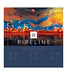 Pipeline combines an economic engine building resource game with a spatial tile placement aspect. You will need more than strong economic skills—carefully crafting an interweaving network of pipelines just might ensure your victory! Number of players...