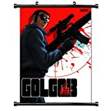 Golgo 13 Anime Fabric Wall Scroll Poster (16 x 23) Inches. [WP]-Golgo-2