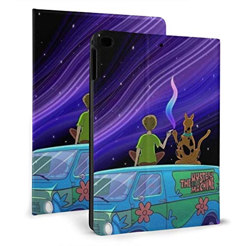 liukaidsfs Ipad case Under The Night Sky The Boy with The Dalmatian Car Slim Lightweight Smart Shell Stand Cover Case for iPad 7th 10.2 inch