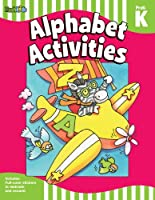 Alphabet Activities, PreK-K (Flash Skills Workbooks Pre-k-k)