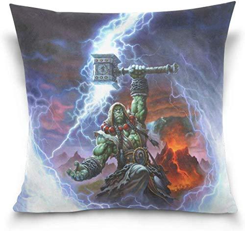 Fundas de almohada Thrall de World of Warcraft Fundas de almohada decorativas...