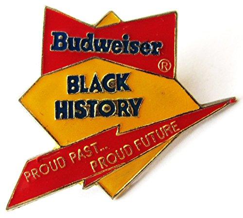 Budweiser Beer - Black History - Pin 30 x 27 mm